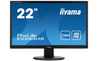 "iiyama ProLite E2283HS-B1 21.5"" Full HD TN Zwart computer monitor LED display"