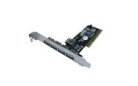 Eminent 4+1 Port PCI Card USB 2.0 USB 2.0 interfacekaart/-adapter