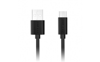 USB 2.0 Type-A Male to USB Type-C Male Cable,2m, Black, 2.1A Output