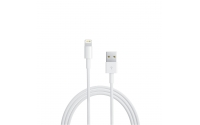 Ewent 1m, USB2.0-A - Lightning 1m USB A Lightning Wit Apple