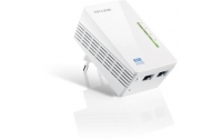 AV600 2-port WiFi Powerline Extender, 500Mbps Powerline datarate, 300Mbps wireleses N,Plug and Play, 2 fast ethernet ports, WiFi Clone, Support Multiple IPTV Streams