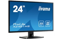"iiyama ProLite X2481HS-B1 23.6"" Full HD VA Zwart computer monitor LED display"