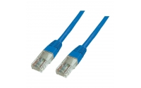 UTP Patchkabel Cat. 5e, blauw 0,5m