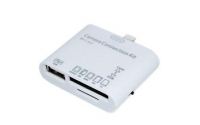 5 in one card reader & USB OTG Kit for iPad 4 & iPad MINI