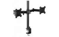 LogiLink Dual Monitor Mount Stand With Adjustable Arm.